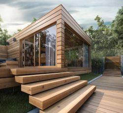 طراحی و اجر سازه های چوبی
