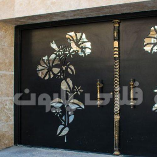 درب های فلزی حیاط و پارکینگ در طرح و مدل های شیک و مدرن