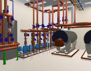 طراحی و مدلسازی تاسیسات مکانیک و برق ساختمان با متد bim